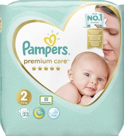 Підгузки Pampers premium care 2 (4-8 кг)