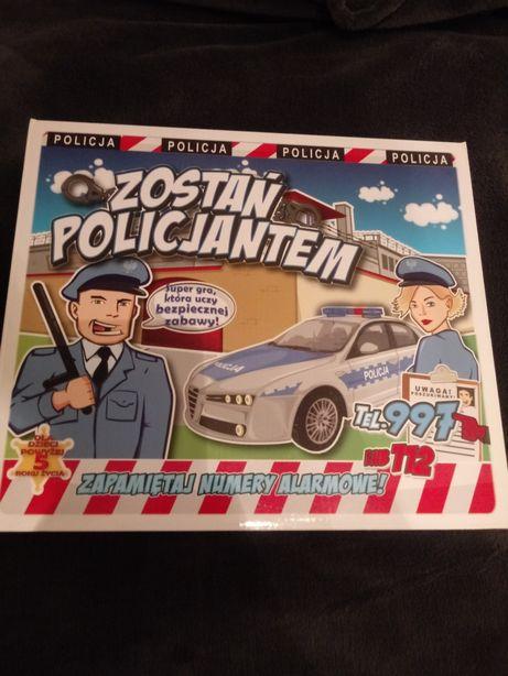 """Planszowa Gra """"Zostań policjantem"""""""