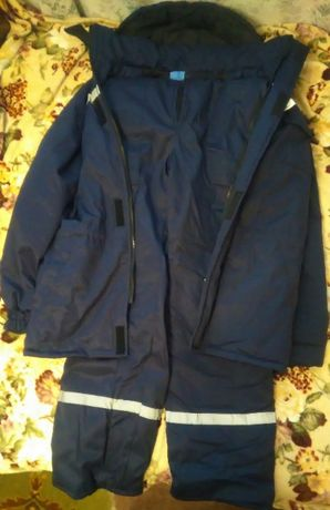 Рабочий костюм зимний с утеплителем, спецодежда