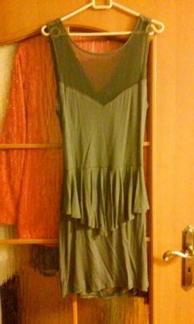 Sukienka z baskinką rozm 42