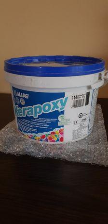 FUGA MAPEI KERAPOXY kolor 114 ANTRACYT, Zaprawa klejąca  2 kg, A + B