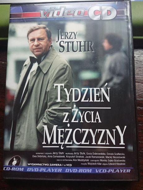 Jerzy Stuhr w filmie TYDZIEŃ W ŻYCIA MĘŻCZYSNY na vcd