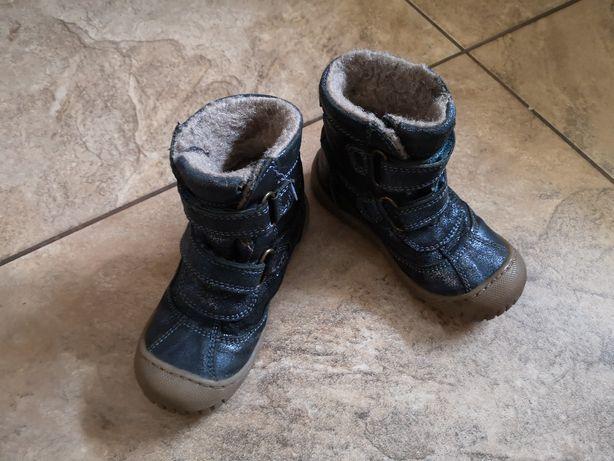 Buty zimowe dziewczęce r. 26