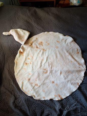 Kocyk czapka tortilla