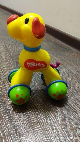 Инерционные игрушки. Собака