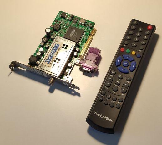Karta PCI-E TV Tuner Technisat Skystar2 Skystar 2 Pilot Czujnik