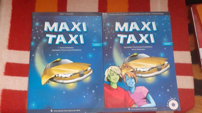Maxi Taxi podrecznik i ćwiczenie do jęz.angielskiego kl.4-6