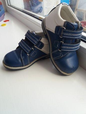 Ботинки демисезонные на мальчика 24 размер