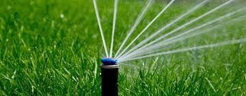 Автоматичний полив газону, полив газону , автополив .Газон