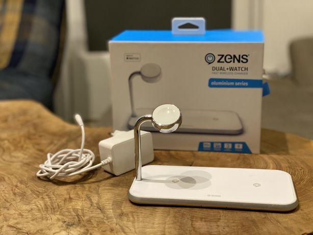 ZENS Dual Stacja Indukcyjna Apple iPhone Watch 3w1