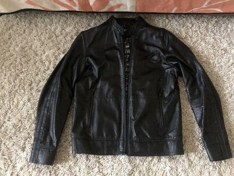 Кожанная куртка Calvin Klein