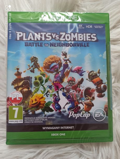 Nowa Gra PL Plants vs Zombies Xbox One Series X