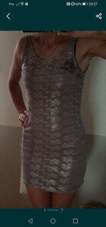 Sukienka Bershka 36 S wesele mini