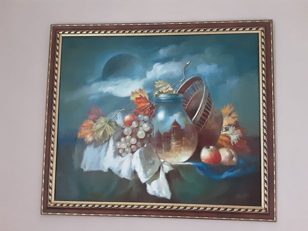 """Картина Анатолий Недобежкин """"Затмение Луны"""""""