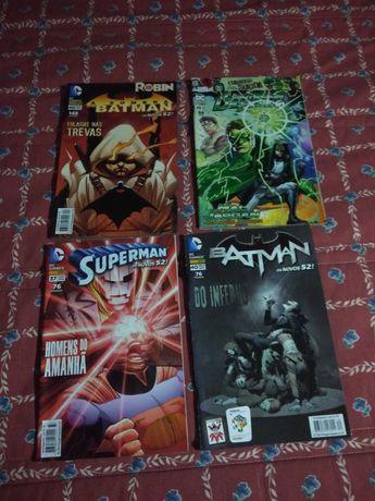 Lote Banda Desenhada DC/Marvel
