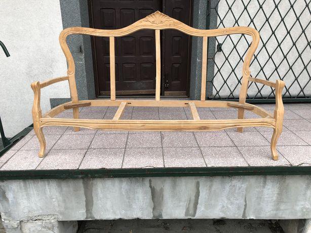 Sofa  filippo rzezba stelaż