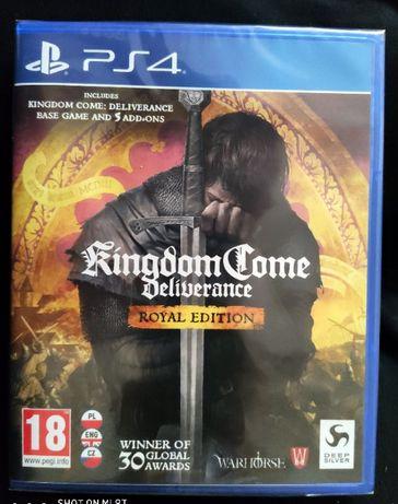 Kingdom Come Deliverance - Royal Edition PL. - PS4