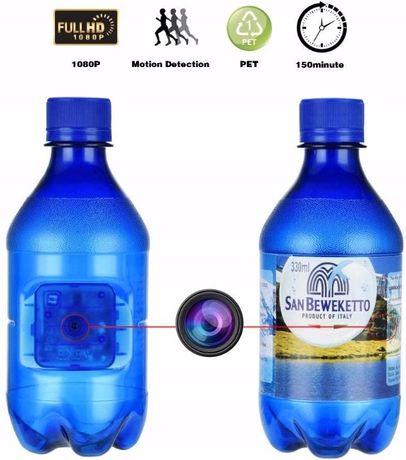 Mini kamera ukryta w butelce szpiegowska spy