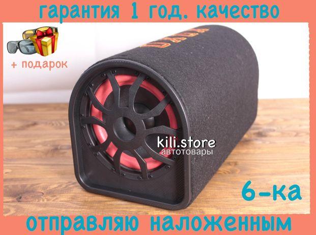 "Активный сабвуфер бочка ХОХО 6"" 500Вт + Bluetooth + USB део ваз газ"