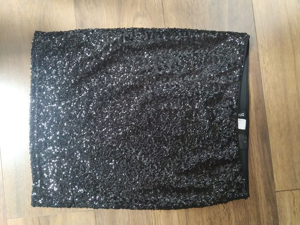 Mini spódnica cekinowa H&M