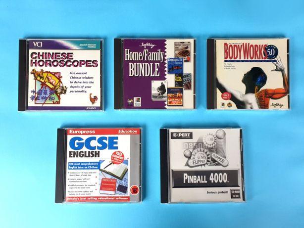 CD-ROMs Software Originais (em inglês)