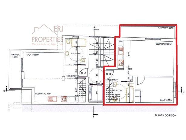 Apartamento Duplex T0+3 - Monte Gordo