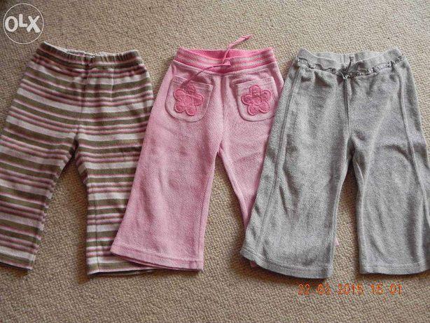 spodnie dresy roz.86,12-18 msc