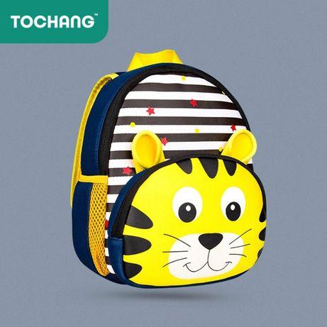 Детский рюкзак, для девочки и мальчика. Яркий дизайн. Легкий. Неопрен.