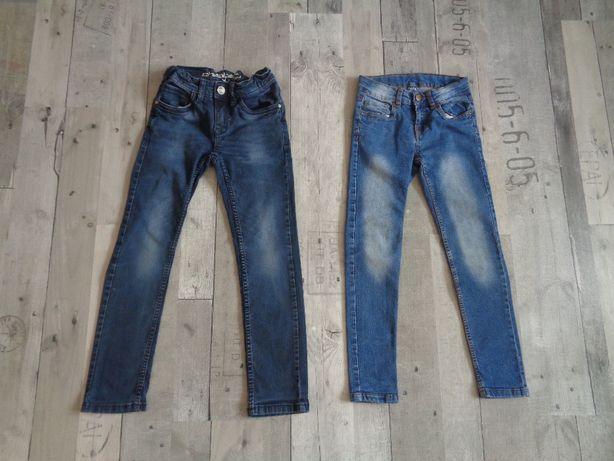 Spodnie jeansowe roz. 128/134
