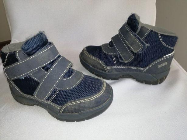 Buty dziecięce jesienne przejściowe na rzepy do kostki trzewiki 24
