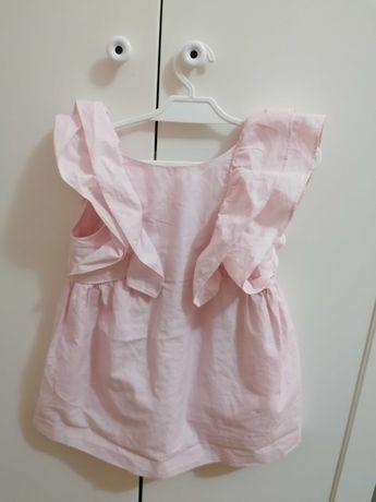 Sukienka Zara 98 falbany