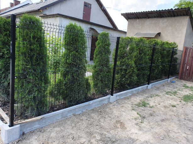 Montaż ogrodzeń panelowych, betonowych, montaż i sprzedaż