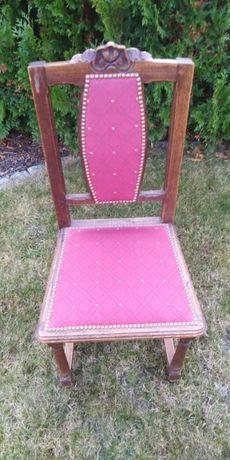 Krzesło antyk, drewniane, ładne