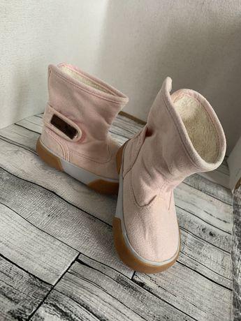 Обувь сапоги для девочки осень весна розовые