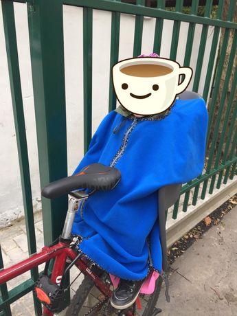 Okrycie/ Ocieplacz na Fotelik Rowerowy dzieciecy