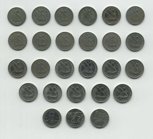 Colecção de moedas 2$50 Crupo-Níquel (COMPLETA)