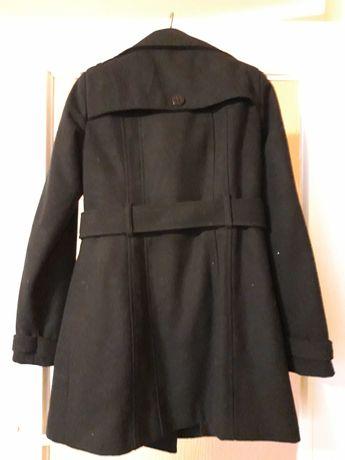 Płaszcz czarny rozmiar S