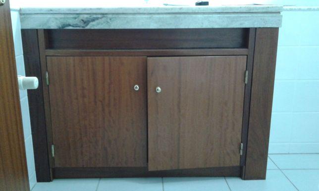 Frente de móvel em madeira, 120x80cm (2unidades)