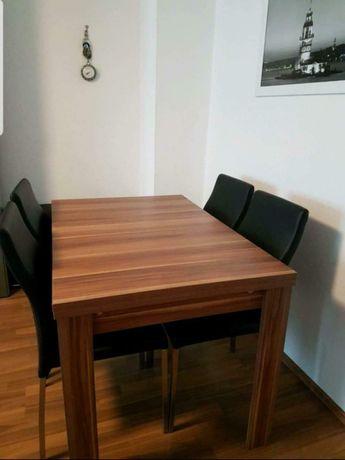 Stół jadalniany do jadalni duży masywny + ławka siedzisko