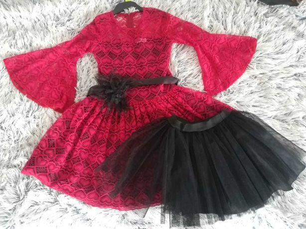 Sukienka 134, śliczna