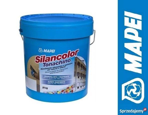 Tynk Mapei SILANCOLOR TONACHINO tynk silikonowy + grunt gratis