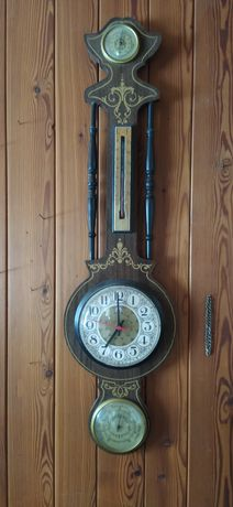 Stacja pogodowa zegar