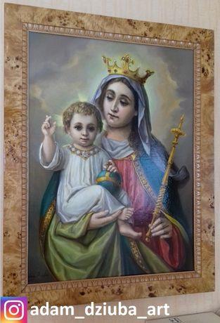 Obraz olejny Matka Boska z Dzieciątkiem