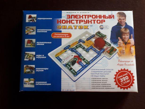 """Электронный конструктор """"Знаток"""" 320 схем"""