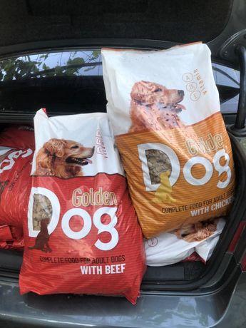 Корм для собак Golden Dog 2 упаковки по 10 кг