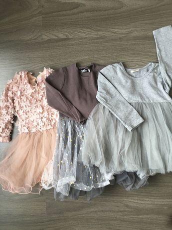 Платье праздничное 1-3 года 98 см  (Moonsoon Disney Zara)