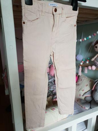 Spodnie Reserved stan idealny pudrowy róż CUDNE