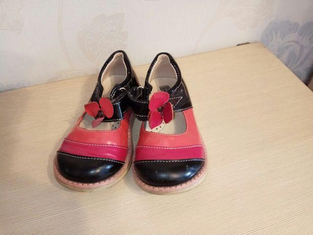 Туфли нарядные лаковые ортопедические