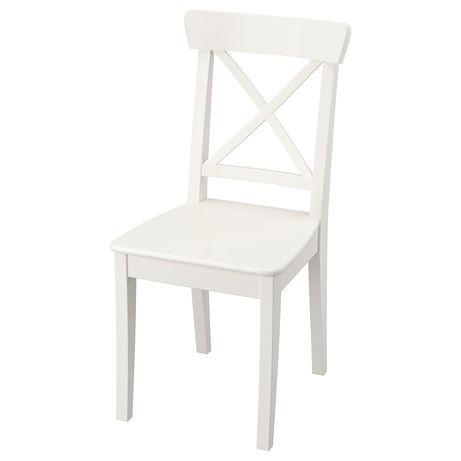 Krzesło INGOLF białe ikea