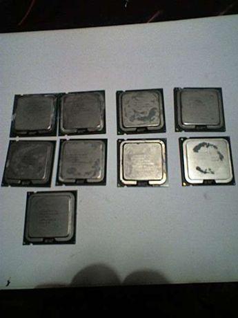 Lote 4 Processadores Pentium 4 Soket 775